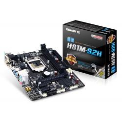 PLACA BASE 1150 GIGABYTE H81M-S2H mATX/HDMI/DVI/V