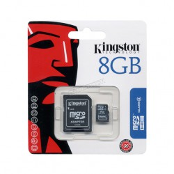 MEMORIA MICRO SD 8GB HC KINGSTON 1 ADAP