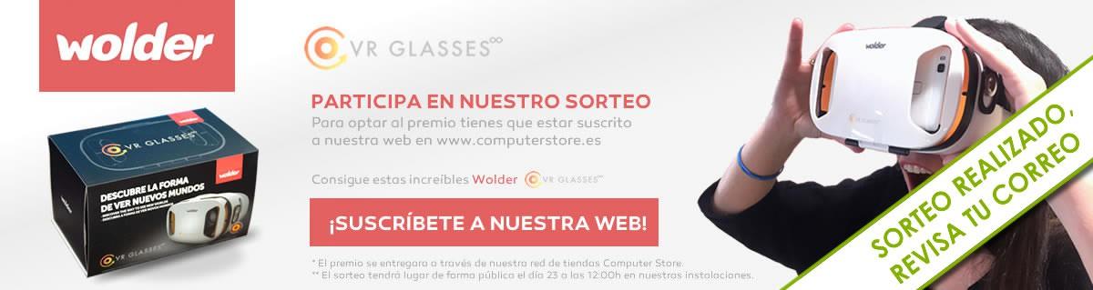 Sorteo Wolder VR Glasses