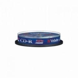 CD-R 700MB VERBATIM 52X TARRINA 10 DATALIFE