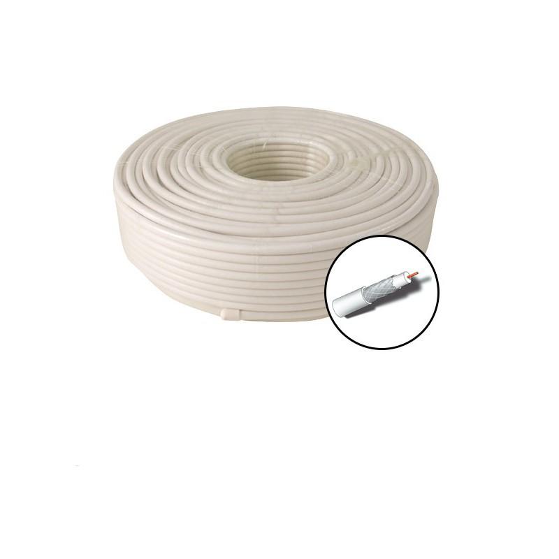 Dh4920 cable antena bobina 20m coaxial 75oh hq for Precio cable antena