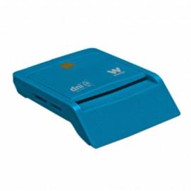 LECTOR TARJETA CHIP DNIE USB WOXTER AZUL TR3.0