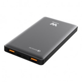 CARGADOR USB POWER BANK WOXTER QC 10500 BLACK