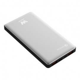 CARGADOR USB POWER BANK WOXTER QC 16000 SILVER