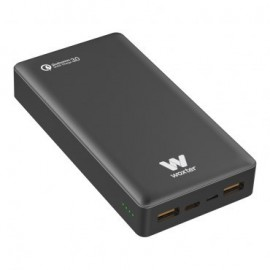 CARGADOR USB POWER BANK WOXTER QC 20500 BLACK
