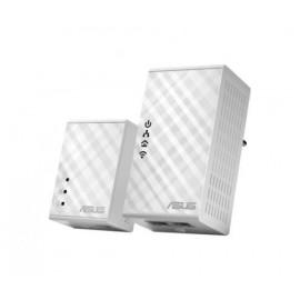 ADAPTADOR RED ASUS PLC PL-N12 500Mbps KIT 2UN WIFI