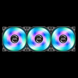 KIT DE 3 VENTILADORES MARS GAMING RGB 120MM