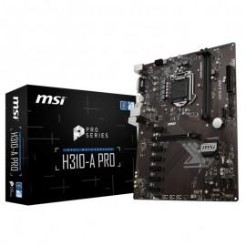 PLACA BASE 1151 MSI H310-A PRO ATX/DDR4/USB 3.1