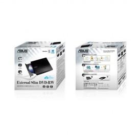 REGRABADORA DVD EXT. ASUS SLIM SDRW08D2S-B NEGRA U