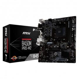 PLACA BASE AM4 MSI B450M PRO-M2 MATX/USB 3.1/HDMI