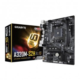 PLACA BASE AM4 GIGABYTE A320M-S2H MATX/USB 3.1/HD