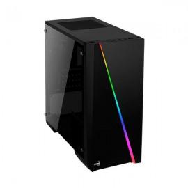 CAJA MICROATX AEROCOOL CYLON NEGRA RGB USB3.0