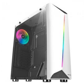 CAJA ATX MARS GAMING MCX RGB BLANCA USB 3.0