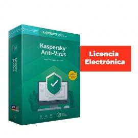 ANTIVIRUS ESD KASPERSKY 2019 3 USUARIOS LIC ELECTR
