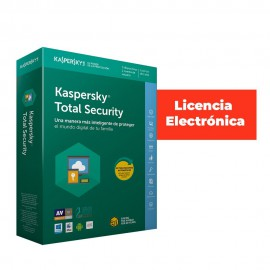 ANTIVIRUS ESD KASPERSKY 2019 3US TOTAL SECUR LIC E