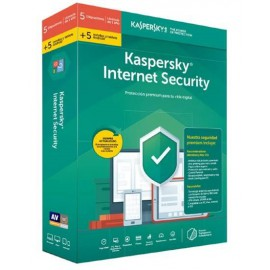 ANTIVIRUS KASPERSKY 2019 INT SECURITY 5+5 DISPO