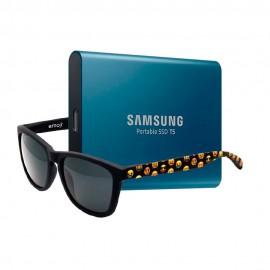 BUNDLE SSD EXT. SAMSUNG T5 250GB+GAFAS EMOJI