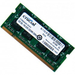 MEMORIA CRUCIAL SODIMM DDR2 2GB 667Mhz CL5 (PC2-53