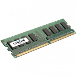 MEMORIA CRUCIAL DDR2 1GB 800Mhz CL6 (PC2-6400)