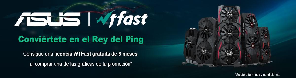 Consigue una licencia WTFast gratuita de 6 meses